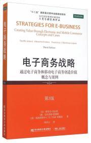 电子商务战略 通过电子商务和移动电子商务创造价值概念与案例(第3版)
