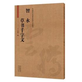 中国历代名碑名帖放大本系列  智永草书《千字文》