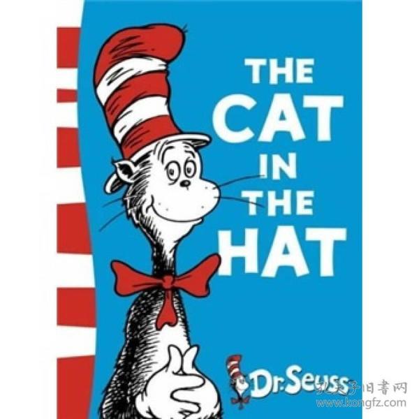 Cat in the Hat (Dr Seuss Green Back Books)[戴高帽的猫(苏斯博士绿背书)]