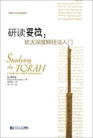 研读妥拉:犹太深度释经法入门