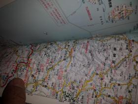 大坂市全域地図  旺文社编集出版1999版。。。。