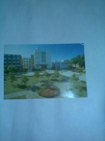 空白明信片一张:POST CARD 计算中心(外文明信片)