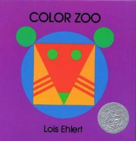 Color Zoo色彩动物园 英文原版