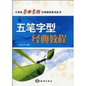 计算机易学易用经典教程系列丛书:五笔字型经典教程