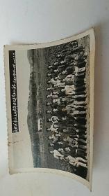 照片 庆祝我校成立两周年及欢送黄主任留念 辽源矿务局第四中学 1964年