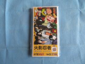 火影忍者写真照片第一组盒装内装带有火影忍者照片的27张明信片+54张扑克牌