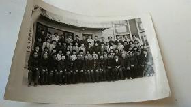照片 东辽县高级中学八五届五班毕业师生留影 1985年