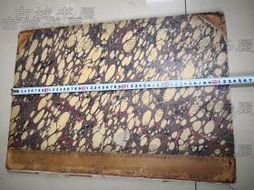 西方医学古籍经典《肺部构造与诊断》,彩色6页大图,巨型本:54*37厘米开本,1822年