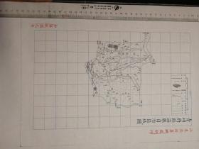 青州府临淄县自治区域图【该地最早的按比例尺绘制的地图】