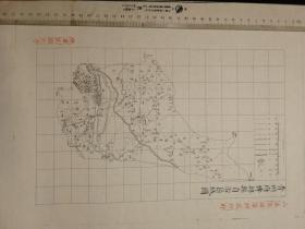 青州府博兴县自治区域图【该地最早的按比例尺绘制的地图】