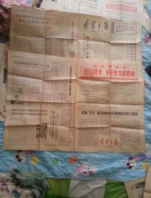 辽宁日报(1970年4月6日  第三版     1970年4月1日第四版)两张