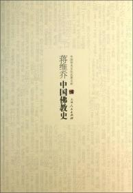 中国学术文化名著文库:蒋维乔中国佛教史
