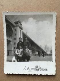 七十年代 武汉长江大桥下 合影