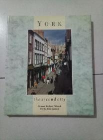 york  the second city  大16开精装