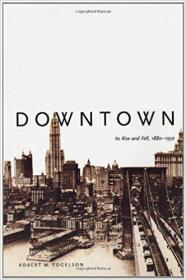 Downtown: Its Rise and Fall, 1880-1950 下城:1880-1950年间的兴衰 9780300098273 0300098278