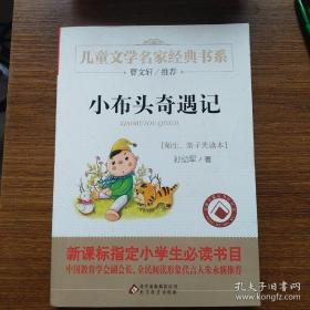 小布头奇遇记/曹文轩推荐儿童文学经典书系