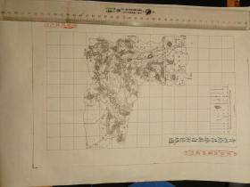 青州府昌乐县自治区域图【该地最早的按比例尺绘制的地图】