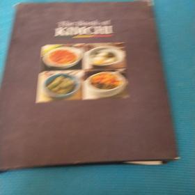 The Book Of KIMCHI 全铜版纸 介绍韩国泡菜