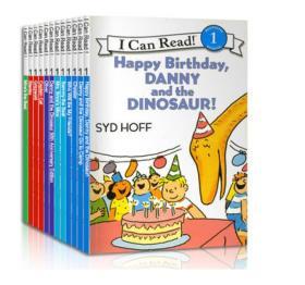 I Can Read 系列12册合集 2CD Syd Hoff 12-Book box set 2 CD 第一阶段
