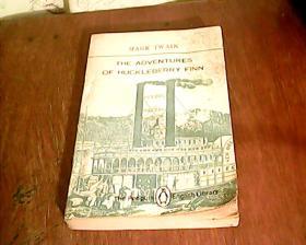 MARK TWAIN THE ADVENTURES OF HUCKLEBERRY FINN (哈克贝利.芬历险记 ,企鹅版)