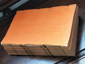 727乾隆武英殿仿宋、每页都带书耳刻工名字【诗经】6厚册12卷全、品相好尺寸27x17cm【宋版、元版、明版、手写。手抄、写刻、版本