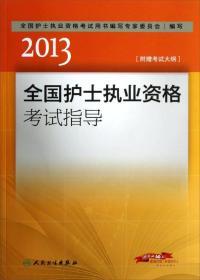 2013全國護士執業資格考試指導