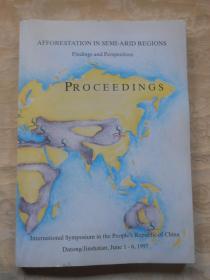 AFFORESTATION IN SEMI-ARID REGIONS  PROCEEDINGS