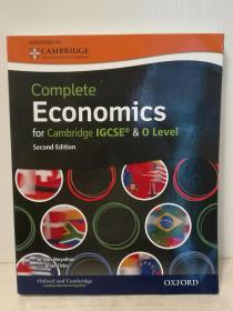 剑桥 IGCSERG 经济学(含光盘)  Complete Economics for Cambridge IGCSERG and O-level With CD (原版教材) 英文原版书
