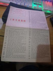上海交通简图    【有语录、