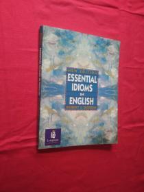 ESSENTIAL IDIOMS IN ENGLISHNEW EDITION