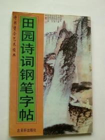 诗书合璧艺术经典:田园诗词钢笔字帖