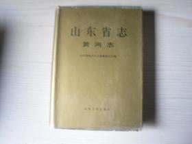 山东省志黄河志    Q1117