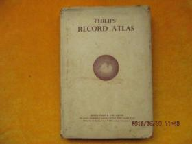 PHILIPSRECORD ATLAS【1947年版外文地图集】