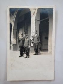 民国1942年日本侵占印尼中岛吉三郎中将巡视各地州府、会见官员珍贵留影直面了历史(稀有珍贵 )
