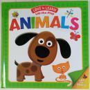 Lift-the-flap Animals  动物(爱学习) 精装书  低幼纸板翻翻书