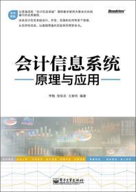 会计信息系统原理与应用