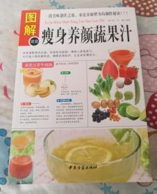 正版库存 图解养颜蔬果汁 谭小春, 李健 中医古籍出版