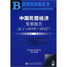 中国民营经济发展报告2006-2007(No.4)