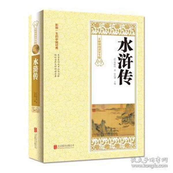 库存新书  **学习版:水浒传*