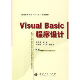 Visual Basic 程序设计