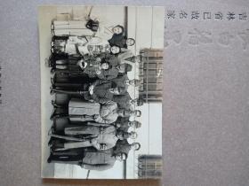 民国1942年 昭和十七年日军吉田大佐及家人留影