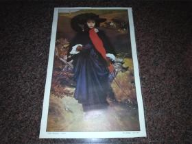 玛丽.萨托丽丝1860年(英   莱顿勋爵作品)油画画片