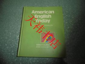 American English Today (16开 硬精装)