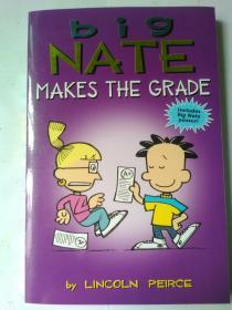 "Big Nate Makes the Grade""我们班有个捣蛋王""系列-捣蛋王考了一百分"