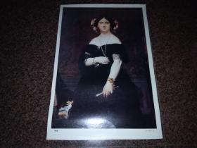 贵妇像(法   安格尔)油画画片