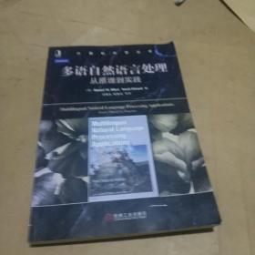 计算机科学丛书·多语自然语言处理:从原理到实践