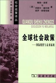 社会政策译丛:全球社会政策·国际组织与未来福利