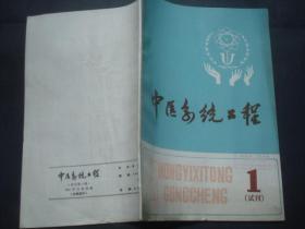 1982《中医系统工程》试刊号