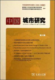 中國城市研究(第六輯)