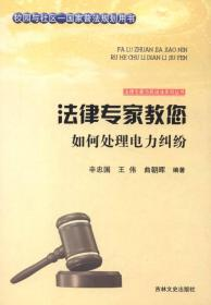 法律专家为民说法系列丛书——法律专家教您如何处理电力纠纷